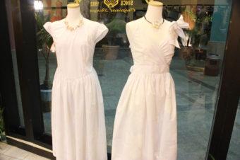 グアムでムームーウェディングドレス発見!