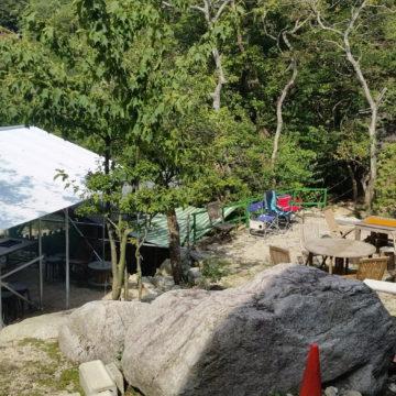 三重県の鈴鹿国定公園朝明渓谷にある朝明ヒュッテさんでキャンプウェディングができます♪
